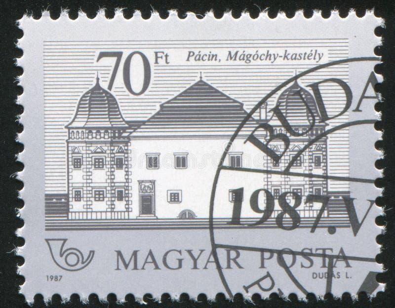 Magochy-Schloss, Pacin stockfotografie