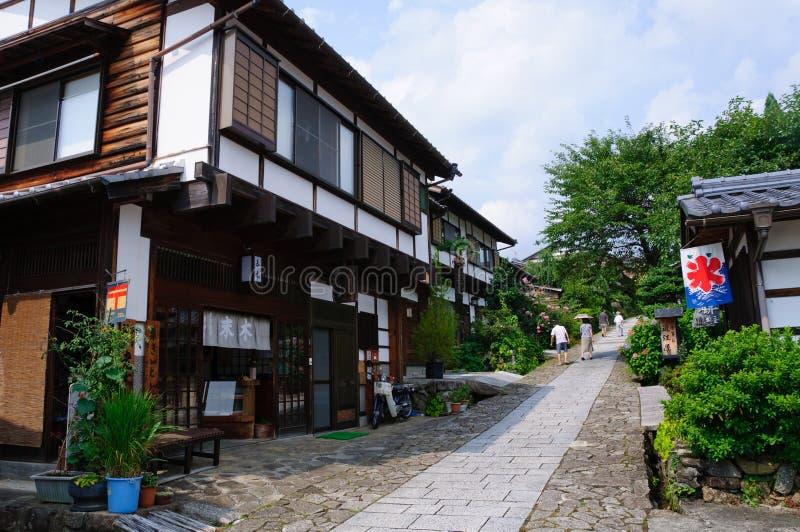 Download Magome-juku stock image. Image of scenery, japanese, tourism - 20780707