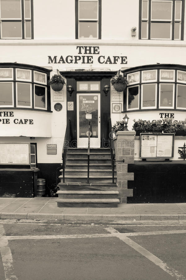 The Magpie Cafe, Whitby stock images