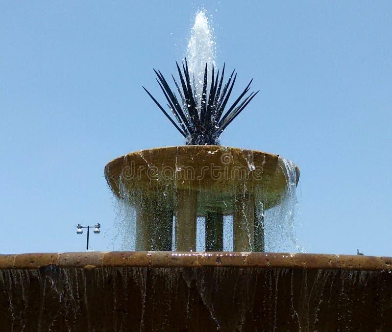 Maguey-Brunnen lizenzfreie stockfotografie