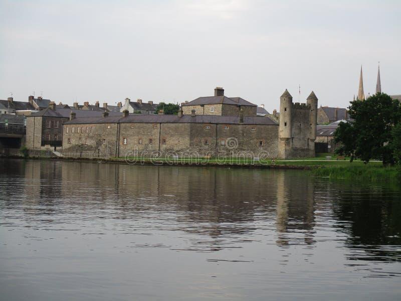 Maguires城堡Enniskillen N'Ireland 库存照片