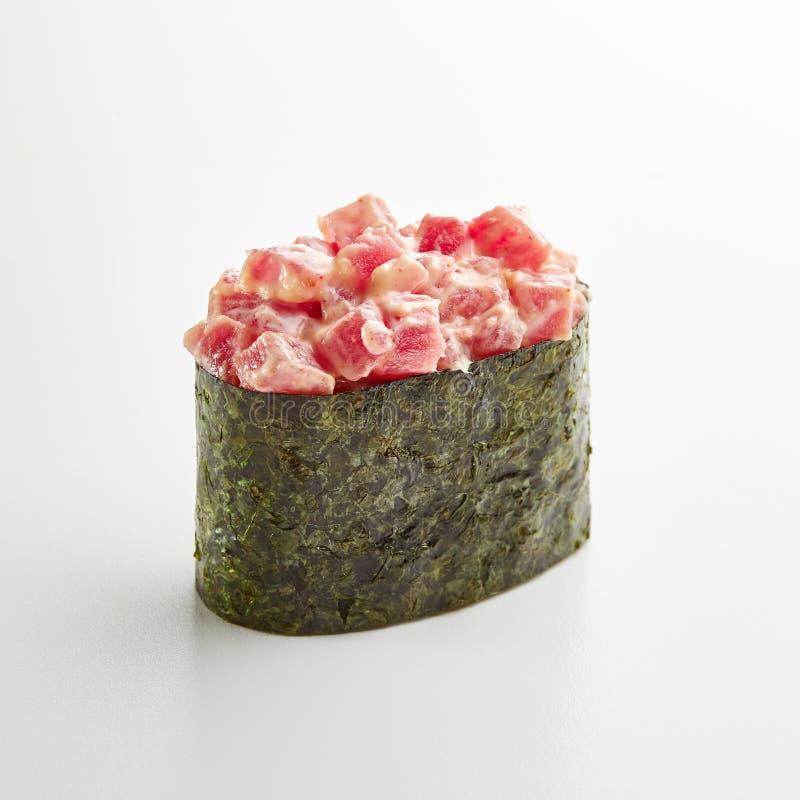Maguro-Meerespflanze Gunkan lizenzfreie stockfotos