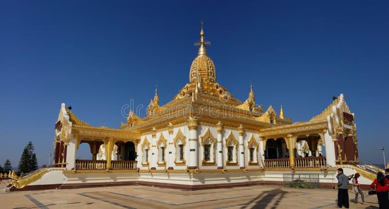 Maha Ant Htoo Kan Thar Pagoda, Pyin Oo Lwin (Maymyo) images stock