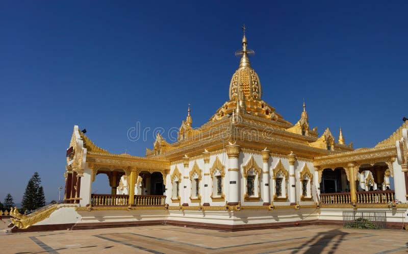 Maha Ant Htoo Kan Thar Pagoda Pyin Oo Lwin (Maymyo) arkivfoton