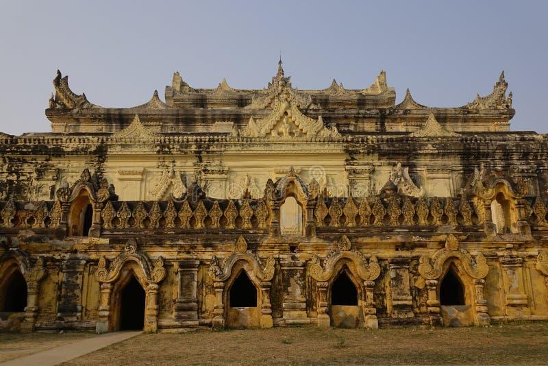 Maha Aungmye Bonzan Monastery at Inwa stock photos