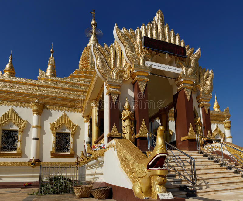 Maha mrówki Htoo Kan Thar pagoda, Pyin Oo Lwin (Maymyo) zdjęcia royalty free