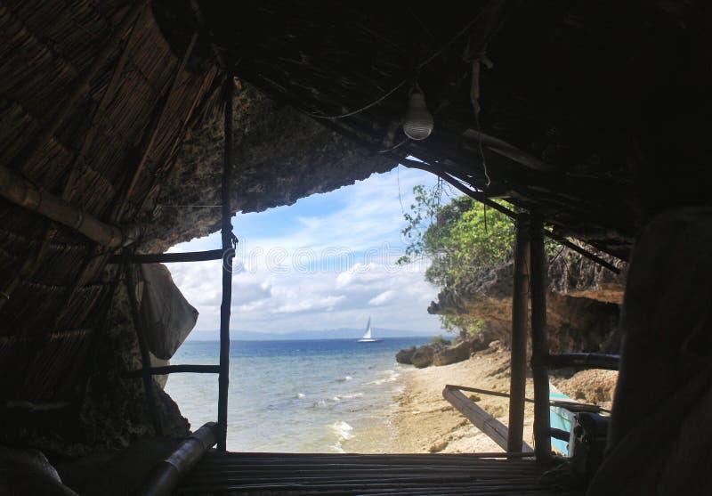 Mahaba海岛, Cuatro Islas在菲律宾 免版税图库摄影