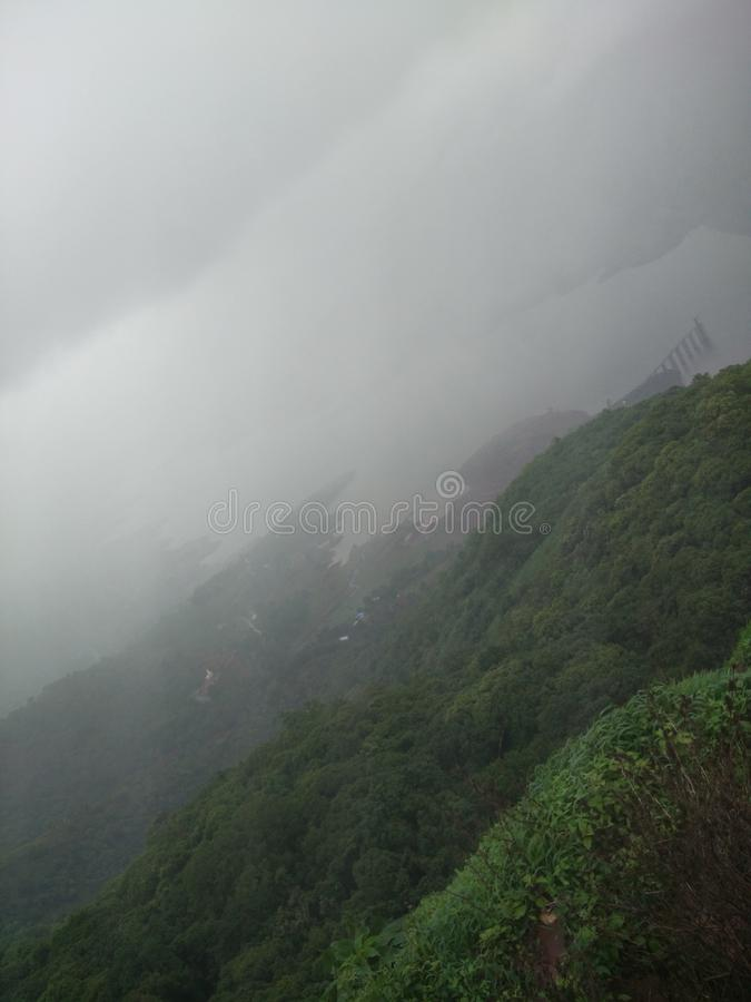 Mahabaleshwar ghat stock afbeeldingen