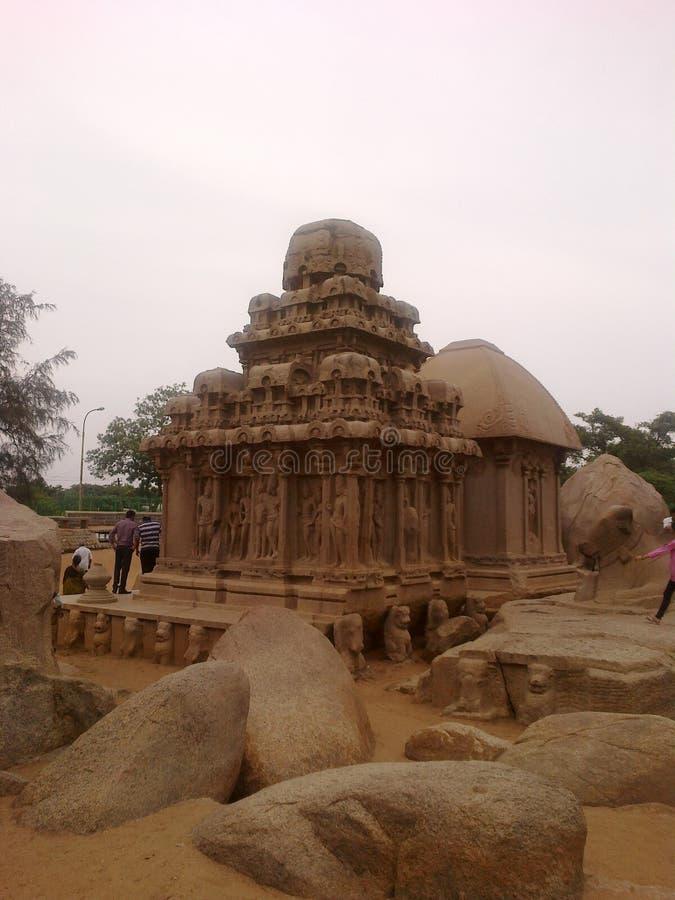 Mahabalipuram fotografie stock libere da diritti