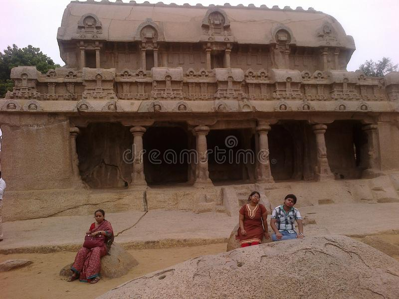 Mahabalipuram fotografie stock
