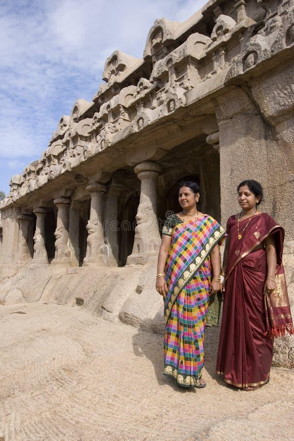 Mahabalipuram - Tamil Nadu - Indien fotografering för bildbyråer