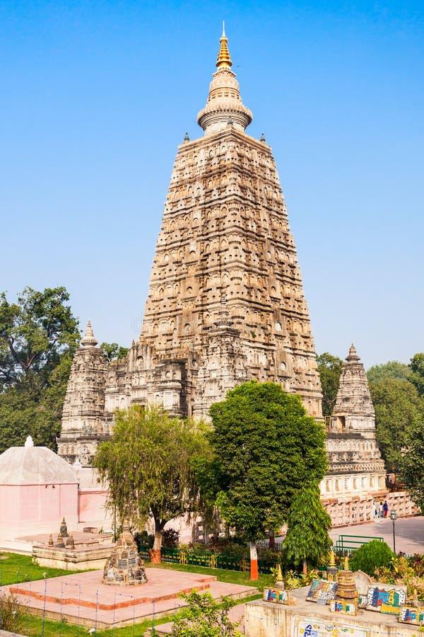 Mahabodhi寺庙, Bodhgaya 库存图片