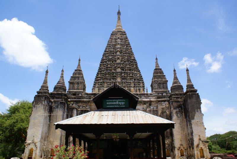 mahabodhi świątyni obrazy royalty free