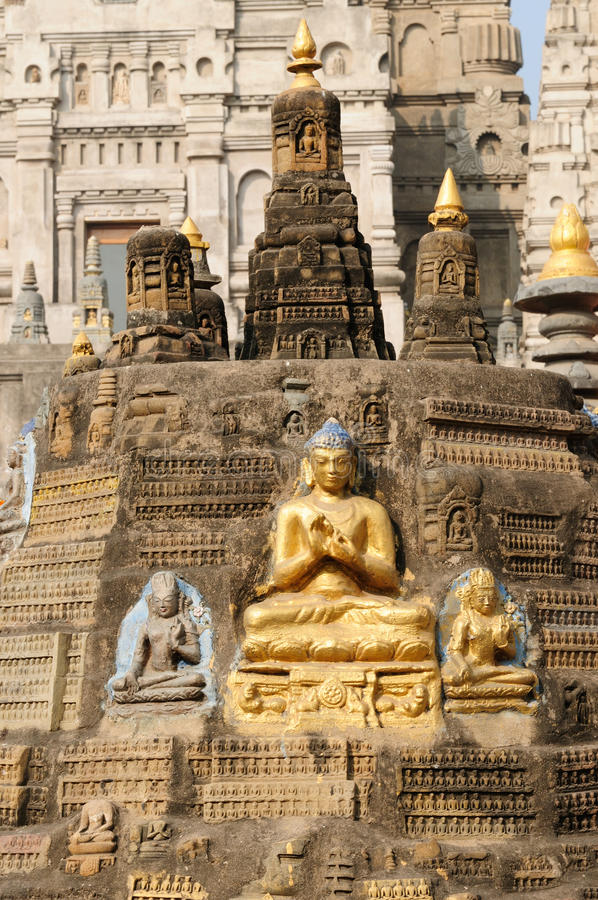 Download Mahabodhy Temple stock photo. Image of main, hinduism - 15407396