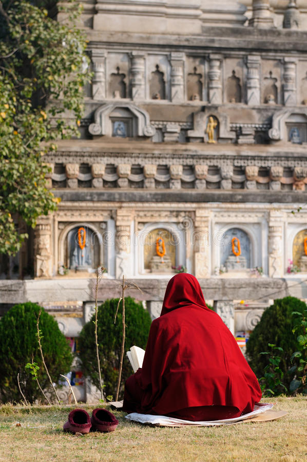 Download Mahabodhy Temple. India stock photo. Image of buddhism - 13261536