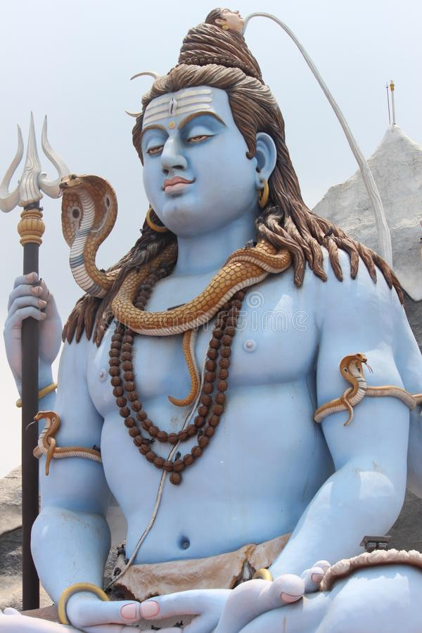 Mahadev del revelador de KE del devo del mahadev del shiv de Bholenath foto de archivo libre de regalías