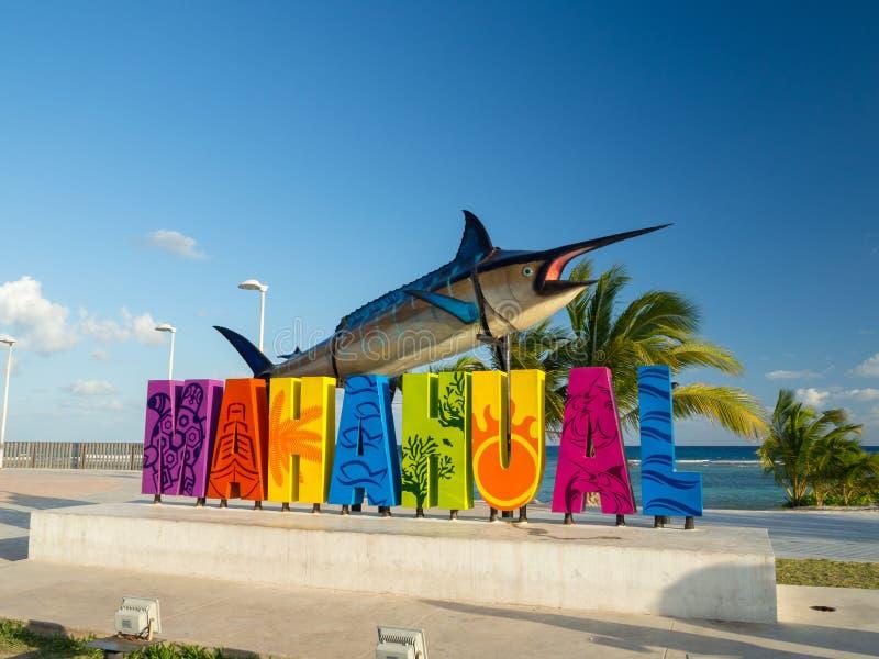 Mahahual , Mexico, South America: [Mahahual Beach, to stock images