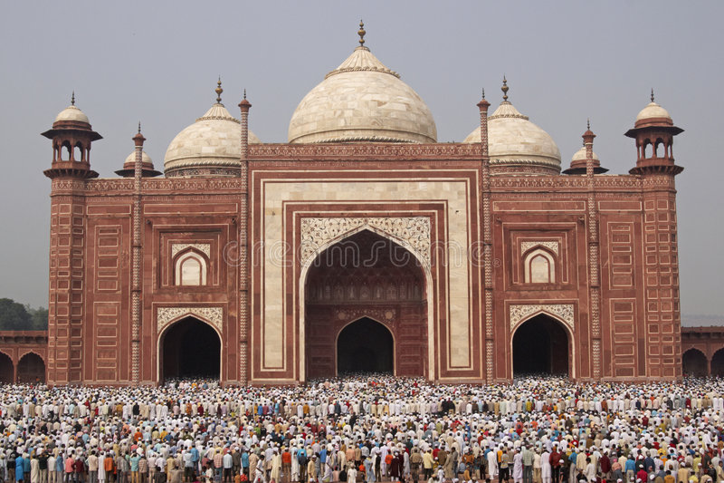 mahal μουσουλμανικές προσ&epsil στοκ φωτογραφία με δικαίωμα ελεύθερης χρήσης