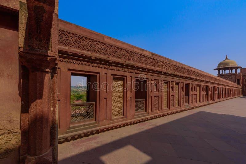 Mahal παλάτι Jahangiri στο οχυρό agra, Ινδία στοκ εικόνες με δικαίωμα ελεύθερης χρήσης