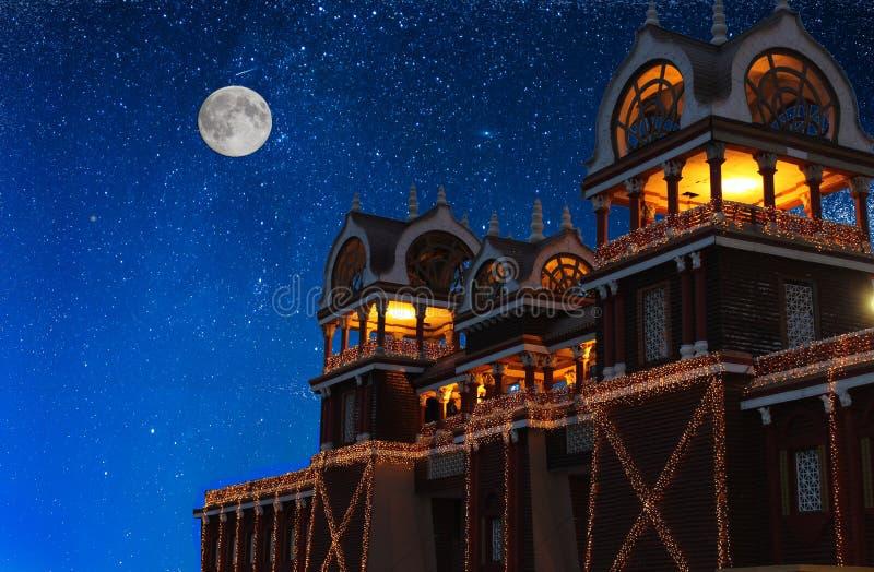 mahal ύφος παλατιών orchha madhya της Ινδίας pradesh raj rajput στοκ εικόνες