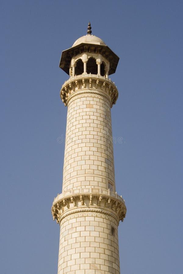 mahal minarettaj arkivfoton