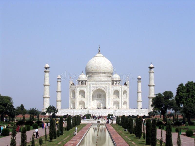 Mahal Taj Arkivbild