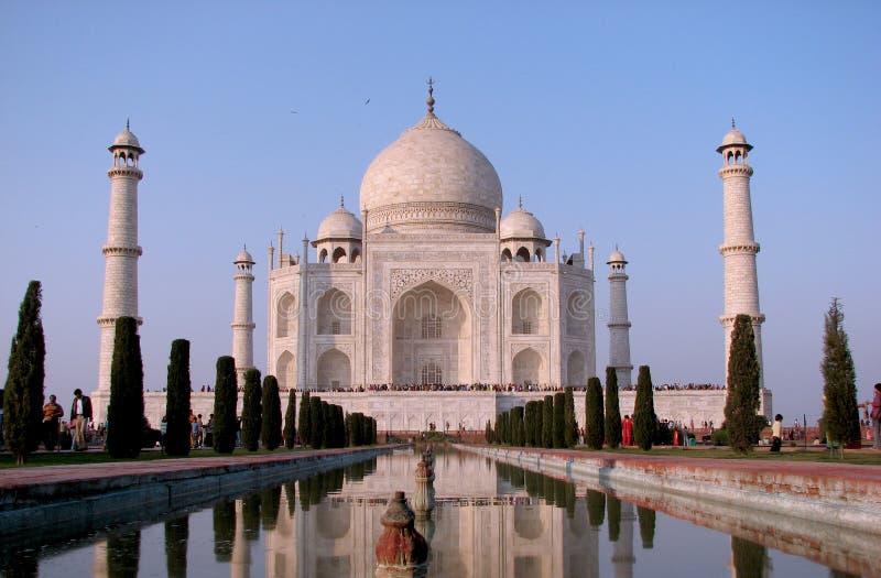 Mahal Taj Royaltyfria Bilder