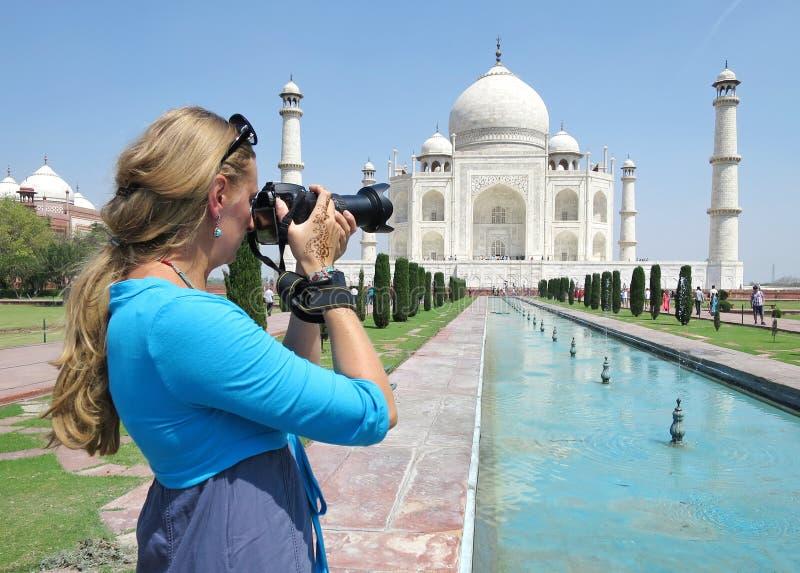 mahal taj agra Ινδία στοκ φωτογραφίες με δικαίωμα ελεύθερης χρήσης