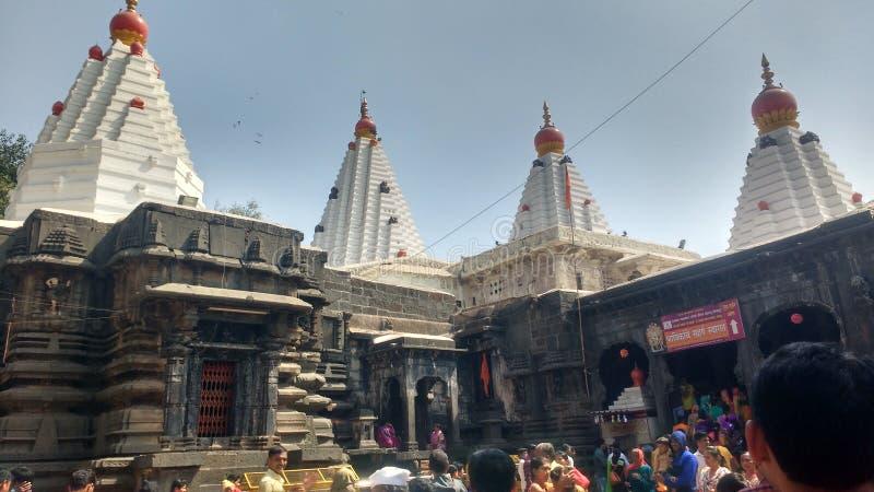 Mahalakshmitempel, Kolhapur, & x28; Shree Ambabai mandir& x29; royalty-vrije stock foto's
