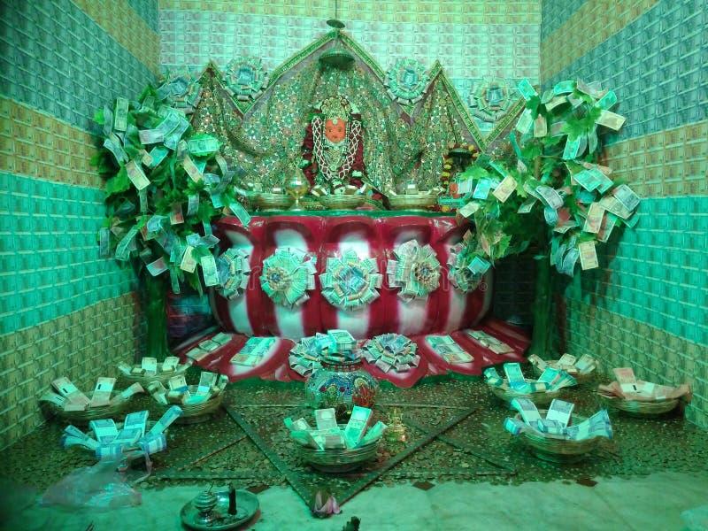 Mahalaxmi Mataji Porbandar zdjęcie stock