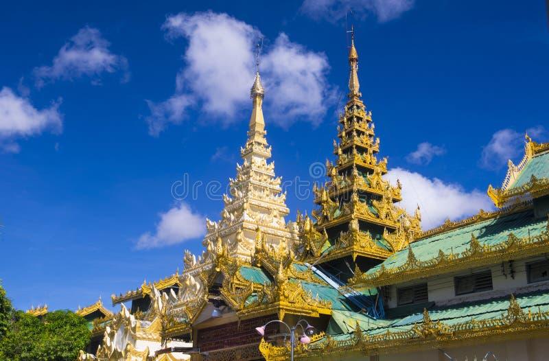 Mahamuni pagoda w Mandalay, Myanmar obraz stock
