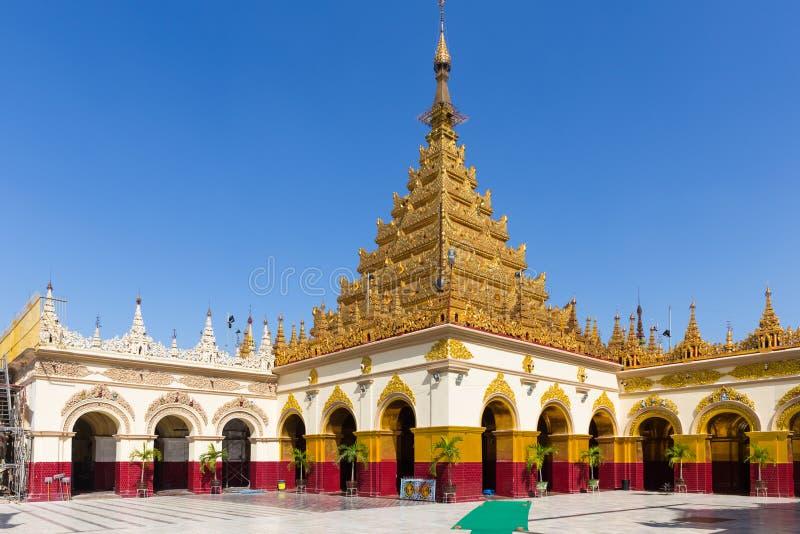 Mahamuni Paya, Мандалай, Мьянма стоковое фото