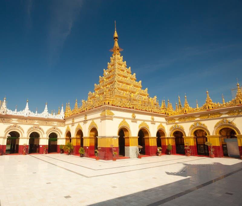 Mahamuni Paya Mandalay fotografia de stock royalty free