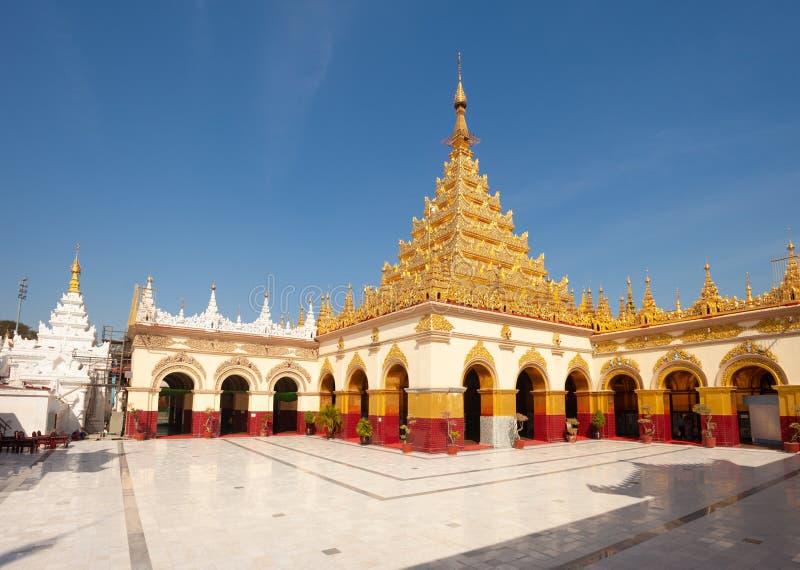 Mahamuni Paya Mandalay foto de stock