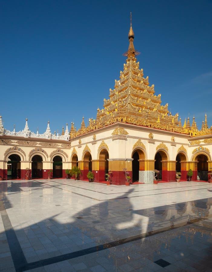 Mahamuni Paya Mandalay imagem de stock