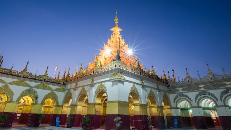 Mahamuni temple in mandalay is the place of most important Mahamuni buddha image and famous place for tourist and buddhist myanmar. People,Mandalay,Shan state stock photos