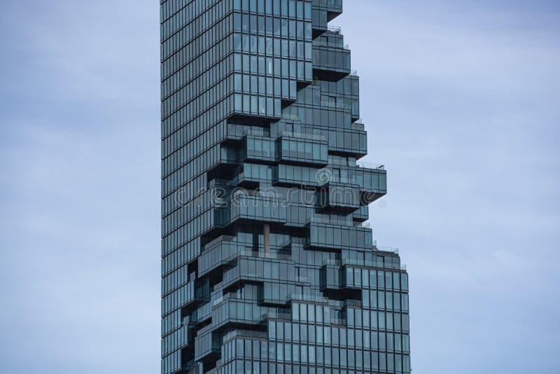 Mahanakhon силы короля самого высокорослого здания стоковое изображение rf