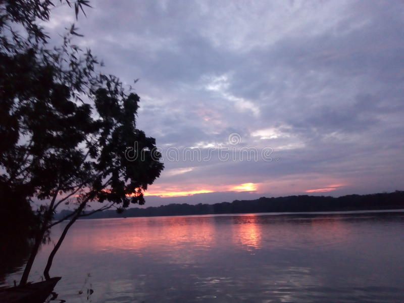 Mahanonda rzeka fotografia stock