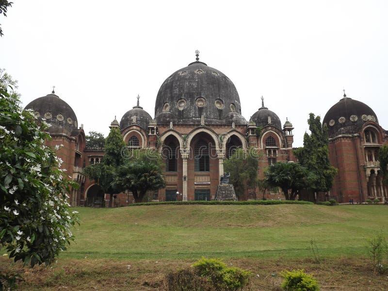 Maharajá Sayajirao University de Baroda, Vadodara, Gujarat foto de archivo