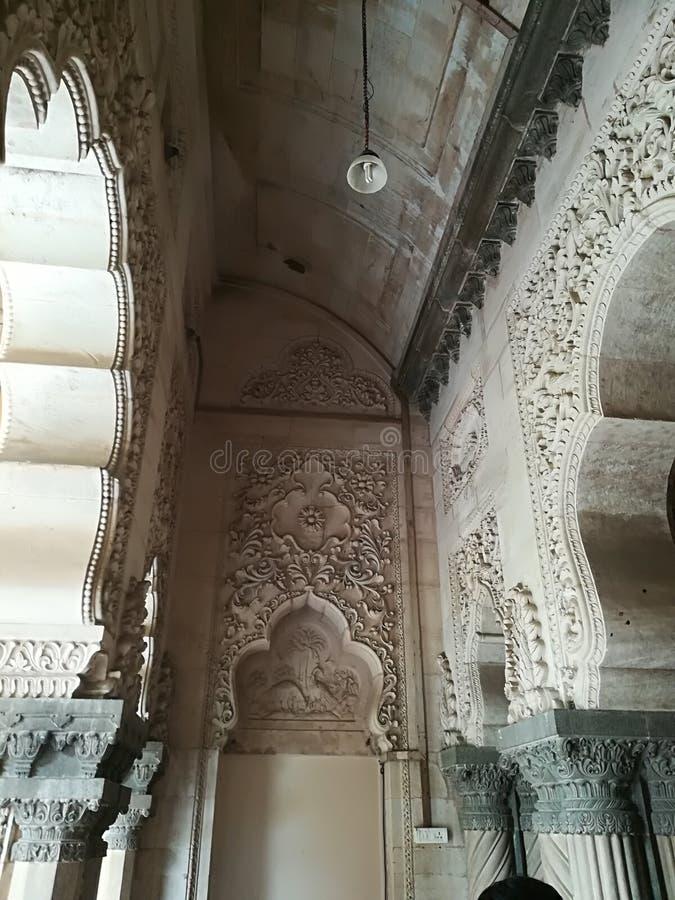 Maharaja pałac ind Gujarat obrazy stock