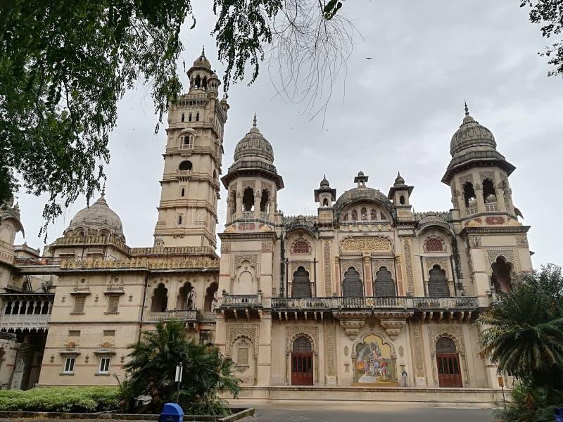 Maharaja pałac w India obrazy royalty free
