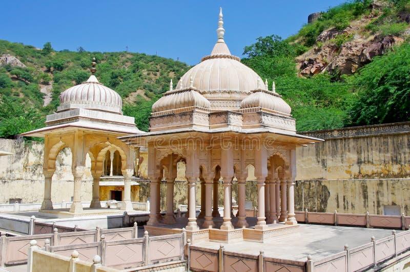 Maharaja Sawai Mansingh II, museum Jaipur Rajasthan, Indien royaltyfri foto