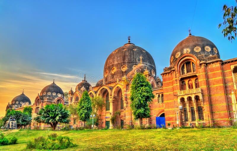 Maharaja Sayajirao Universitet av Baroda, fakultet av konster india arkivfoto