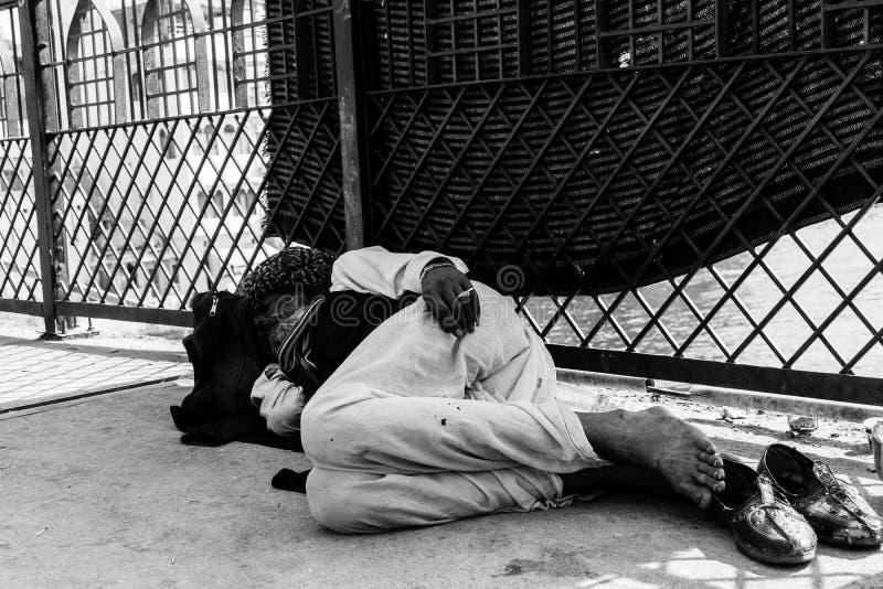 Maharaja on the streets stock image