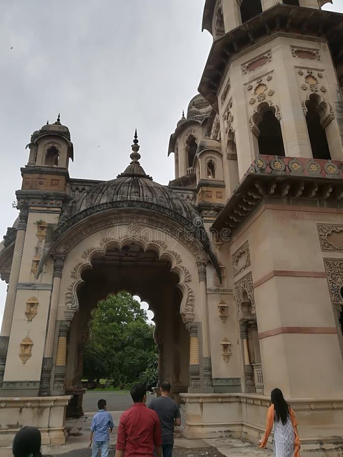 Maharajas pałac w India zdjęcie royalty free