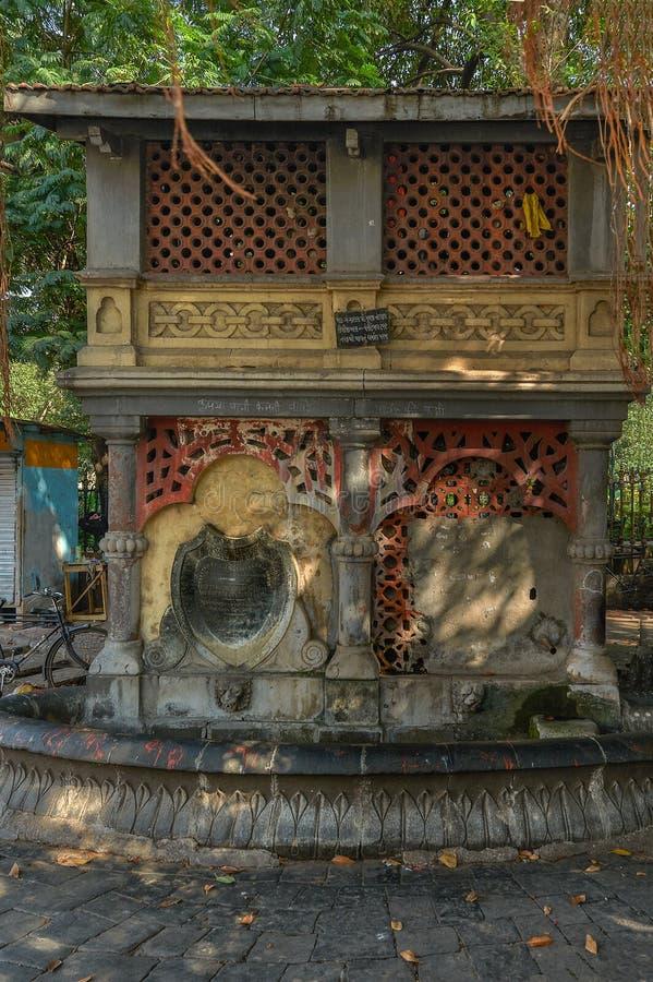 Maharashtra de Mumbai de fort de cercle de horniman de fontaine d'eau potable  images stock
