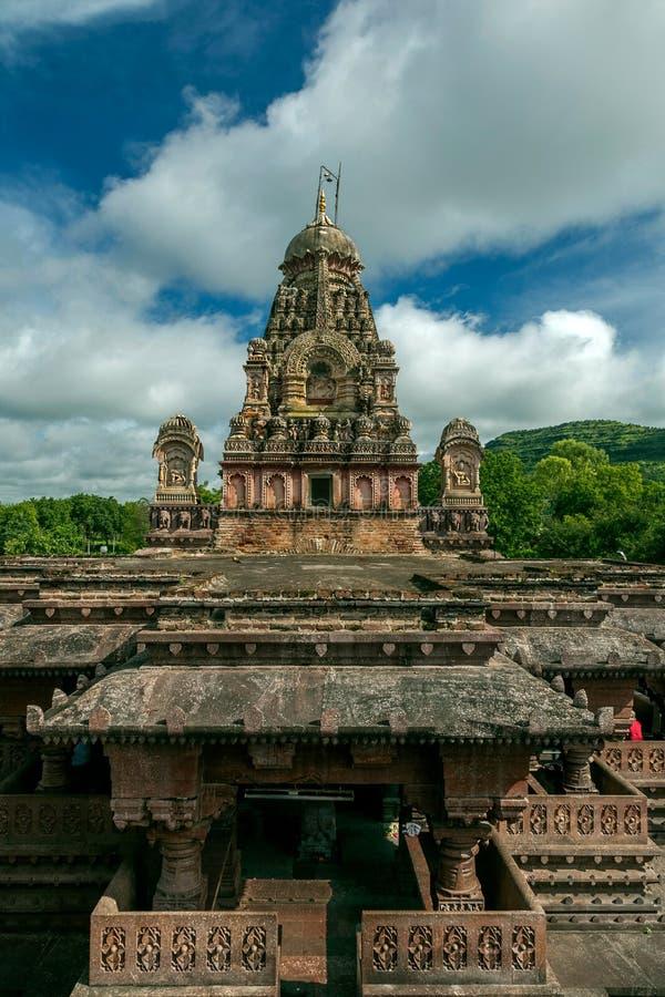 MAHARASHTRA INDE de HemadpantiEllora Aurangabad de temple-Verul de Jyotirling Ghrneshwar Jyotirlinga photographie stock libre de droits