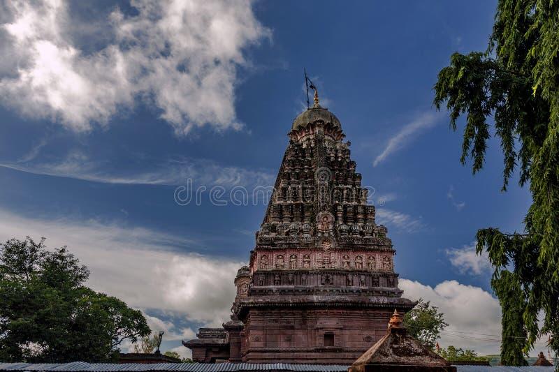 MAHARASHTRA INDE de HemadpantiEllora Aurangabad de temple-Verul de Jyotirling Ghrneshwar Jyotirlinga photo stock