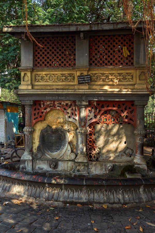 maharashtra INDE de Mumbai de fort de cercle de horniman de fontaine d'eau potable  photo stock