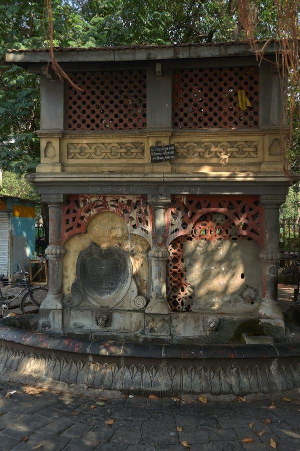 maharashtra INDE de Mumbai de fort de cercle de horniman de fontaine d'eau potable  image stock
